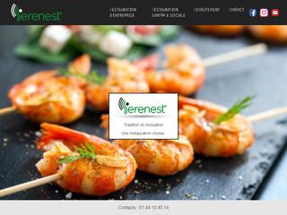 Serenest – cantine bio d'entreprise