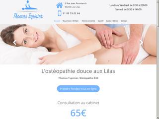Ostéopathe pour Bébé aux Lilas, Thomas Tupinier