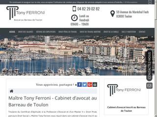 Avocat spécialiste en licenciement à Toulon