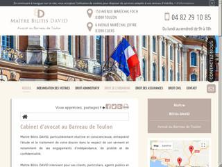 Avocat en droit administratif à Toulon, Maître Bilitis David