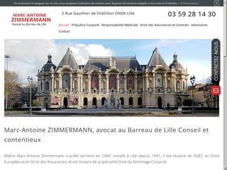 Avocat dommage corporel à Lille, Maître Marc-Antoine Zimmermann