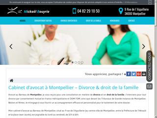 Avocat spécialisé en droit du divorce à Montpellier