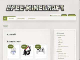 Boutique Minecraft - Epee-Minecraft