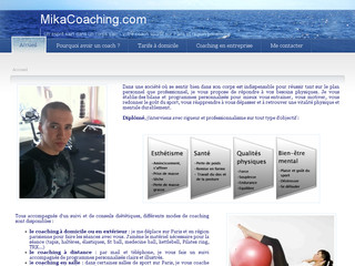 MikaCoaching, coach sportif à domicile à Paris et les Hauts-de-Seine