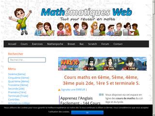 Cours et exercices de maths