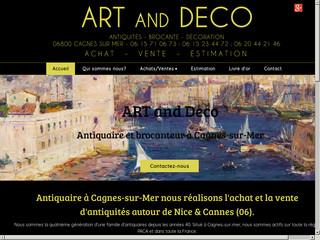 Antiquités : Art and Déco à Cagnes sur Mer (06)