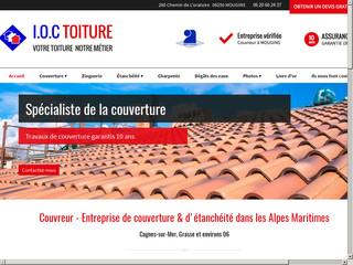 Couverture : IOC Toiture à Mougins (06)