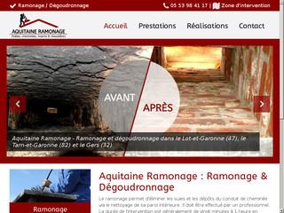 Aquitaine Ramonage - Ramonage Villeneuve-sur-Lot, Fleurance, Montauban, Moissac