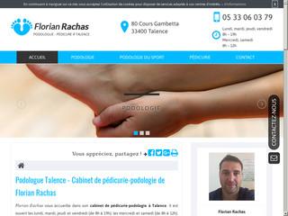 Podologue pédicure à Talence près de Bègles, Florian Rachas