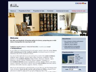 Mobilia Real Estate, agence immobilière en Grèce