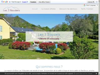 Les 3 Baudets - Chambres d'hôtes Pyrénées Atlantiques