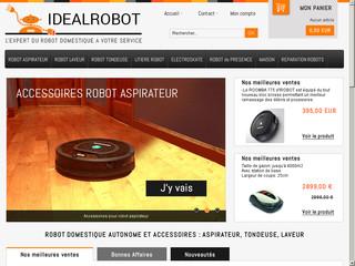 Robots domestiques autonomes : aspirateurs, tondeuses, laveurs