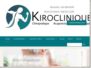 Chiropratique Montréal - Kiroclinique