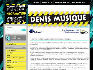 Denis Musique – Magasin d'instruments Québec