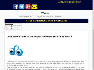 Annuaire internet Lookmoica
