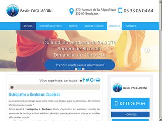 Ostéopathe à Bordeaux Caudéran