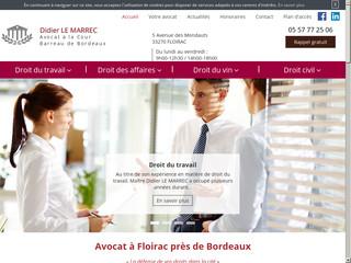 Avocat droit du travail Bordeaux