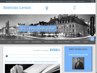 Avocat en droit du bail d'habitation à Lille, Maître Stanislas Leroux