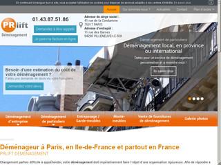 Société de déménagement Paris