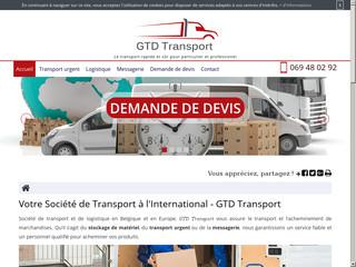 Société de logistique en Belgique, GTD Transport