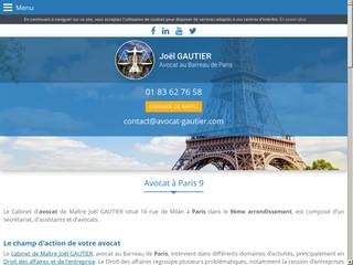 Avocat droit du travail Paris 9