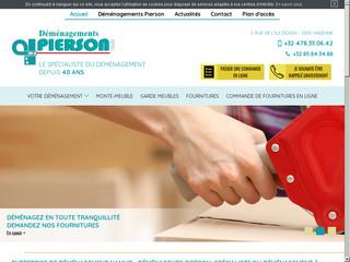 Entreprise de déménagement Namur - Déménageurs PIERSON Andenne