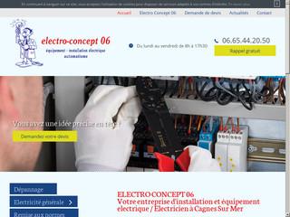 Electro Concept 06 - Électricien à Cagnes Sur Mer