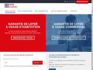 Webcaution - Caution de loyer en Suisse