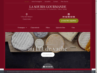 Fromagerie, la souris gourmande à Paris 9e