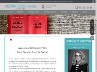 Avocat en droit pénal à Paris, Joséphine De Sonneville
