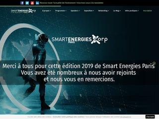 Le salon sur l'énergie en France