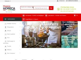 Matériel-horeca propose la vente de matériel pour les cafés,hôtels et restaurants.