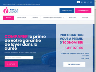 Index Caution - Comparatif d'assurance caution de loyer
