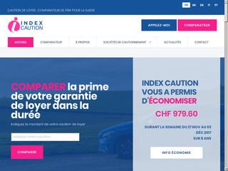Index Caution - Comparatif d'assurance caution de loyer