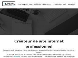 F-LAKEHAL - Créateur de sites web dans le Vaucluse