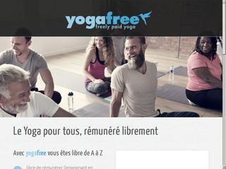 Cours de yoga à rémunération libre