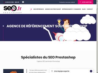 Agence de référencement prestashop en France