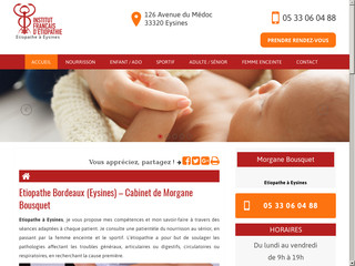 Votre étiopathe pour nourrisson à Bordeaux