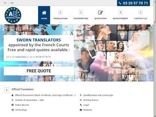 AB Traduction - Traducteur assermenté