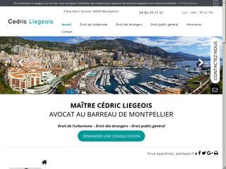 Avocat en droit public à Montpellier, Maître Cédric Liégeois