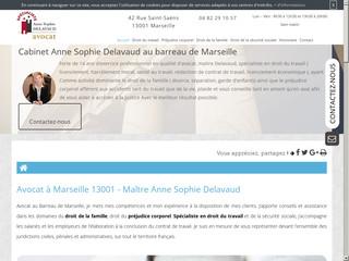 Avocat en droit du travail à Marseille, Maître Anne Sophie Delavaud