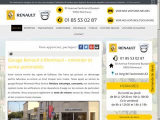 Entretien automobile à Montreuil, Meca Service