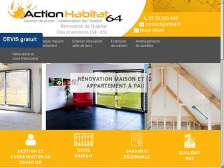 Entreprise rénovation maison Pau 64