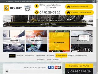 Garage Renault Vignal auto Marseille, pneus et entretien auto