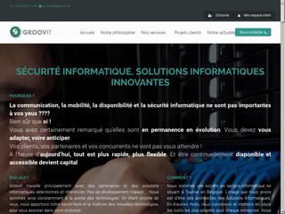Téléphonie IP, vidéosurveillance IP et autres services de Groovit