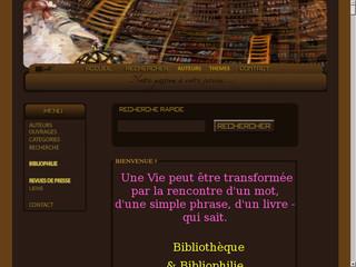 Site de vente de livres anciens