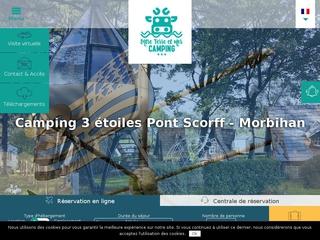 Camping 3 étoiles à Pont Scorff (56)