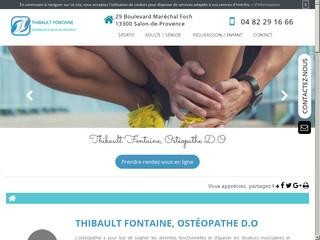 Ostéopathe du Sport à Salon de Provence , Thibault Fontaine