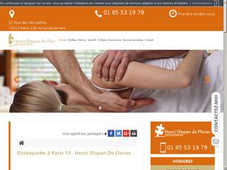 Consulter votre ostéopathe à Paris 13