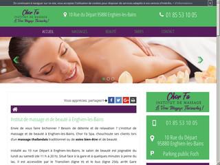 Institut de massage à Enghien-les-Bains